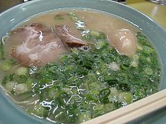 料理:ラーメン(塩とんこつ)500円@長浜ラーメン味心・雑餉隈