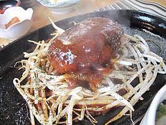 ランチ:鉄板ハンバーグ定食@はかまだ化粧品店・清川