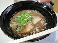 ラーメン:黒LA-麺600円@LA-麺HOUSE将丸・親富孝通り・天神