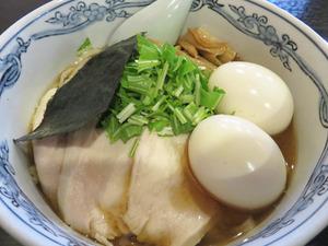 9汁そば+煮玉子2個@春光亭