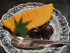 懐石:デザート@日本料理・浄水茶寮・薬院