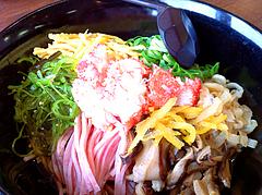 ランチ:冷麺そばアップ@鳴門うどん・久留米・山川