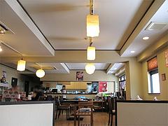 店内:座卓席からの眺め@あごだし麺・五島軒