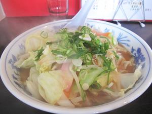 9野菜たっぷりちゃんぽん600円@華らーめん