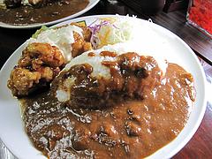 料理:チキン南蛮カレー880円普通@カレー倶楽部ルウ