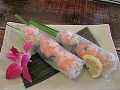 料理:ゴイクン(サイゴンの生春巻)650円@ベトナムカフェ&レストラン・ゴンゴン