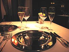 店内:テーブル@レストラン花の木・福岡