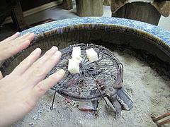 16ランチ:火鉢あったかい@カフェくうねる・別府・茶山