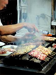 店内:焼鳥焼いとります@焼鳥牛作・福岡市中央区小笹