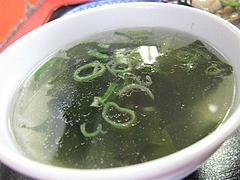 ランチ:ワカメスープ@小笹飯店