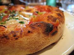 8ランチ:ピザランチのピザ生地1@ピッツェリア・ファリーナ・渡辺通・高砂