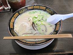 8ランチ:やる氣ラーメン500円@ラーメン博多三氣・福大通り片江店