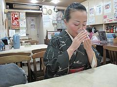 4店内:カウンター・テーブル@中国料理・徳福・博多区役所
