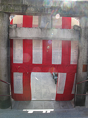 お多福門の裏・川端商店街側・節分@櫛田神社・博多2011