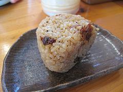 17ランチ:七福亭特製焼豚おにぎり50円@七福亭ラーメン