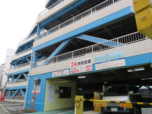 18駐車場