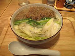 料理:肉うどん700円@讃岐うどん志成(しなり)