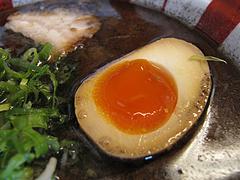 ランチ:ラーメン煮玉子@博多ラーメン麺王・名島店