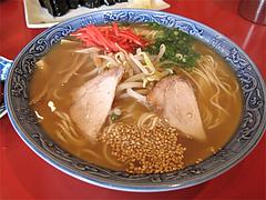 料理:ラーメン(単品だと450円)@四方平(よもへい)・小倉