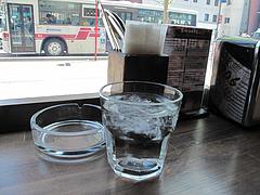 2店内:卓上@スペインバル&カフェ・エスペランサ