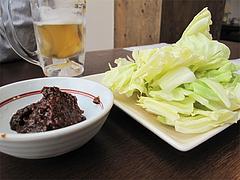 料理:肉味噌キャベツ@嘘の三八・ベイサイドプレイス博多