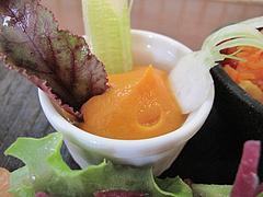 15ランチ:前菜サラダ・ニンジンのムース@食堂シェモア・フレンチ・イタリアン・洋食