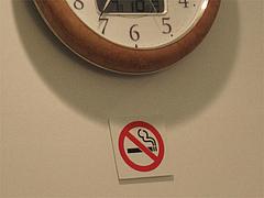 店内:禁煙@もちもち麺工房松・住吉