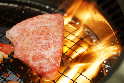 18特選和牛厚切りステーキ