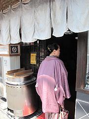1外観:入り口@恵味うどん・薬院