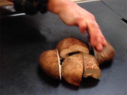 11原木しいたけ焼き650円@お好み焼き鈴