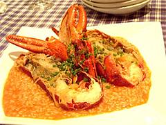 オマール海老のリゾット@イタリア料理カピート