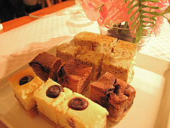 料理:チーズスティックケーキ・マーブルブラン@ひなまつり・女子会