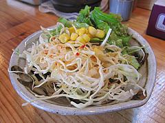 12ランチ:ランチセットのサラダ@博多担々麺まるみや・渡辺通り店・春吉