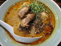 13ランチ:風味豆鼓(フンウィートウチー)ラーメン500円@居酒屋kikura(キクラ)・博多駅
