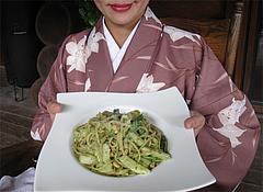 料理:ジェノベーゼ1,100円@森のログレストラン・アラスカ