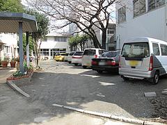 外観:駐車場@喫茶軽食みらい・大楠