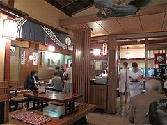 店内@古式生そば・ひさや・博多区土居町