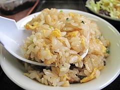 料理:玉子チャーハン@ラーメンつる家・那珂川