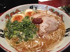 ランチ:煮玉子ラーメン700円@ラーメン暖暮・西新