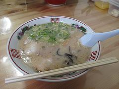 6ランチ:長浜ラーメン500円@長浜ラーメン・よつば屋・西新
