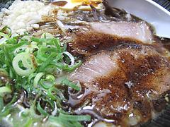 5ランチ:ラーメンチャーシュー・黒マー油@ラーメン・麺屋一矢・住吉店