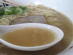 5ランチ:豚骨ラーメンスープ@博多ラーメン・唐木屋・堤店