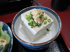料理:日替の冷奴@白頭山天・福岡店