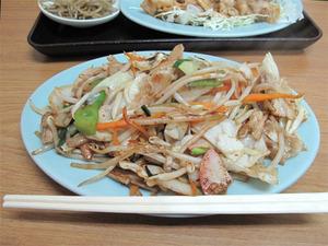 16野菜炒め300円@福竜軒