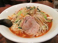 料理:辛かっちゃん600円+ダブル野菜100円@上四十川・舌心