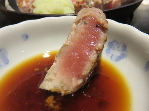 9トンテキ生姜醤油
