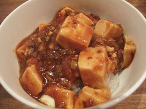15麻婆豆腐丼+150円@チャイニーズキッチン真心シンシン