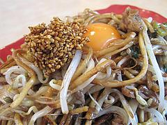 ランチ:辛玉焼そばアップ@麺焼そば・バソキ屋