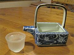 料理:田酒(でんしゅ)の酒器セット@博多一梅(ひとばい)