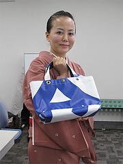3NEXCO西日本・アップサイクル・トートバッグ4,800円@SAPA麺王決定線2012